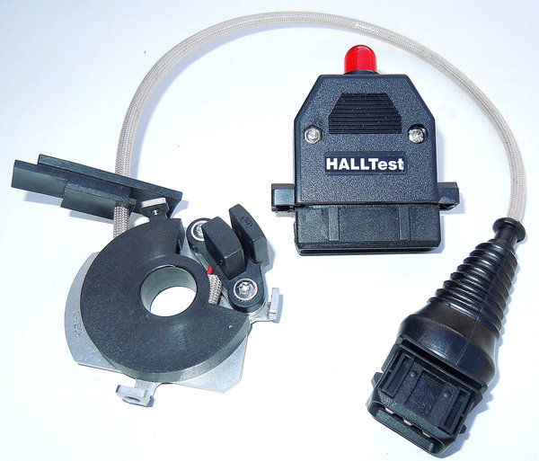 Hall Effect Sensor for 2-Valve Boxer Models made since 1981 SET incl. Q-TECH HALLTest