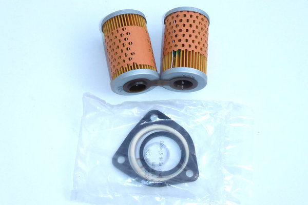Oilfilter (hinged) for all Airheads without oil cooler, incl. sealing kit.