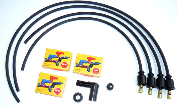 Ignition Cable Set for Twin Spark Ignitions with BOSCH Coils