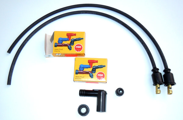 Ignition Cable Set for Single Spark Ignitions with BOSCH Coils