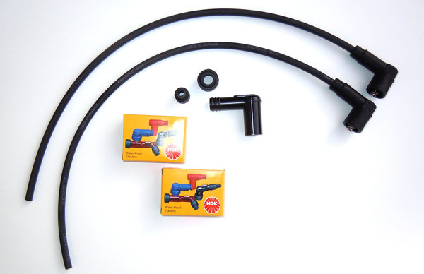 Ignition Cable Set for Single Spark Ignitions with BERU Coils