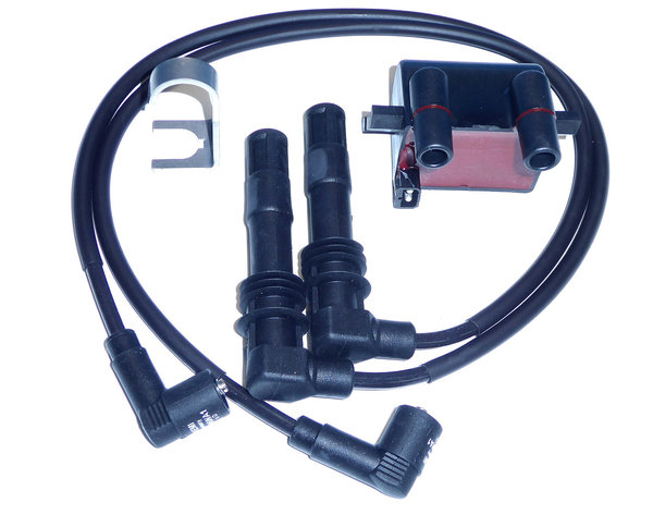 BERU ZS 224 Ignition Coil inclusive ignotion cable set